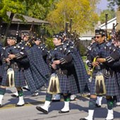 Pipes and Drums of the Emerald Society